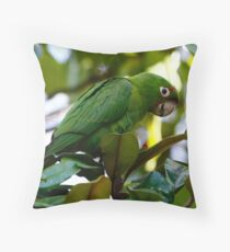 The Parrots of San Francisco Throw Pillow