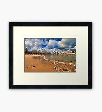 slow tide... Framed Print
