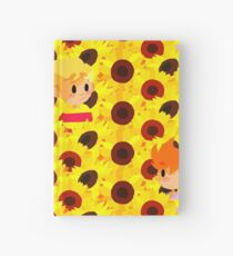 Sunflower Field Hardcover Journal