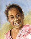 Caribbean Princess by Michael Beckett