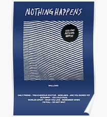 Wallows - Nothing Happens Poster
