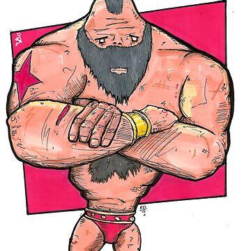 Big man Zan by bigsmellydog