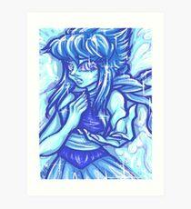 Painted Lapis Lazuli Art Print