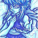 Painted Lapis Lazuli by Penelope Barbalios