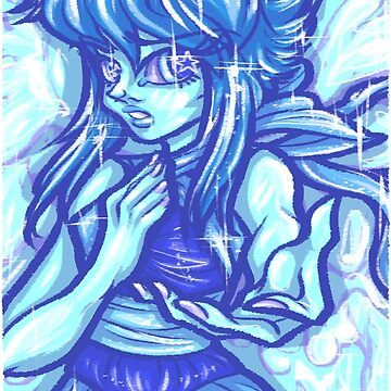 Painted Lapis Lazuli by Poofette