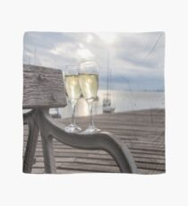 Wine and Sunset Scarf