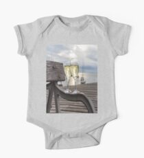 Wine and Sunset One Piece - Short Sleeve