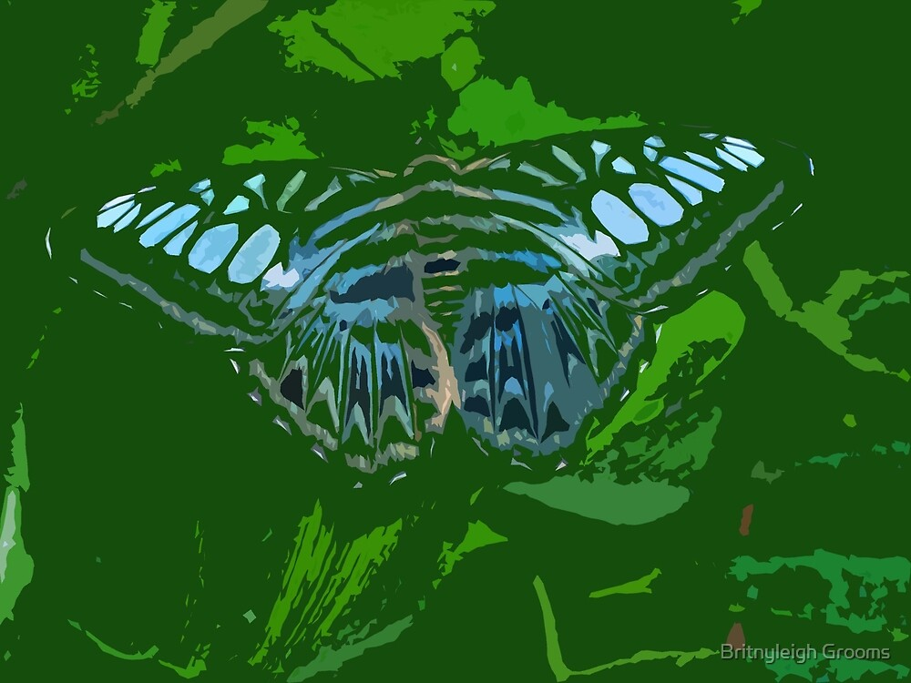 butterfly art by Britnyleigh Grooms