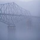 bridge of the gods by Bruce  Dickson