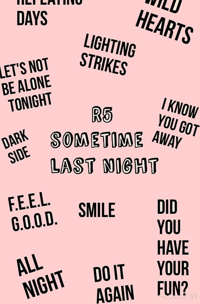 R5 Songs by evaav