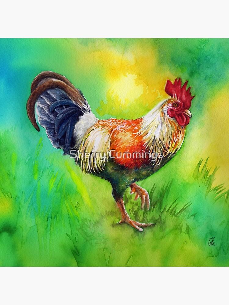 Rooster Strut by sherryscummings