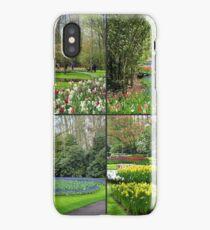 A Dutch Spring Collage - Keukenhof Gardens iPhone Case/Skin