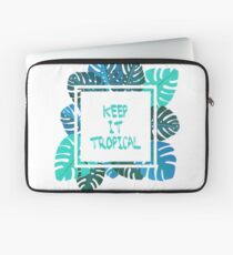 Keep it #tropcal No.2 in BLUE Laptop Sleeve