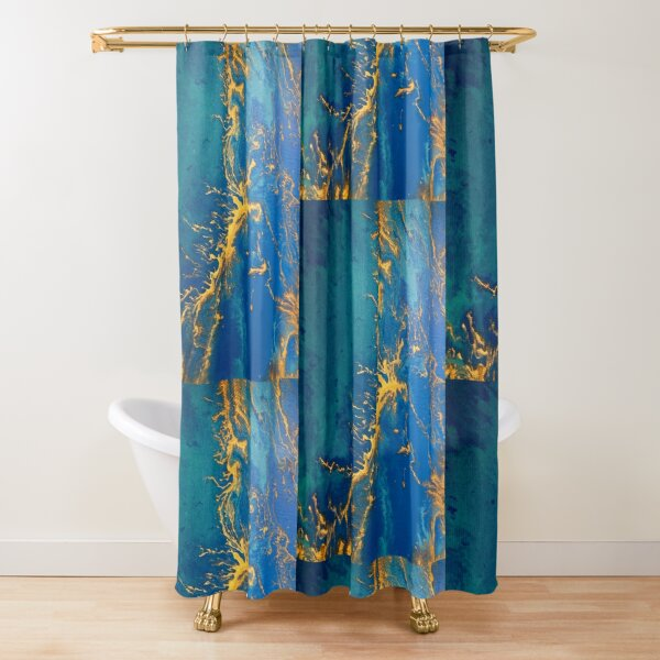 Every Time I Stare Into The Sun Shower Curtain