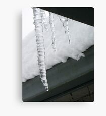 Icicle Races Are Coming Your Way Canvas Print