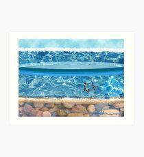 """""""Sunny Beach""""  Art Print"""