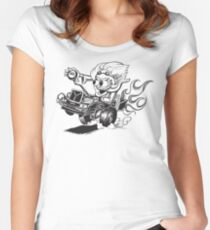 Doc Fink Women's Fitted Scoop T-Shirt