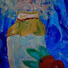 NikkiJo's 'Flower, Vase and Fruit' by Art 4 ME