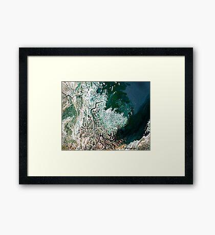 """Northern Estuary""  Framed Print"