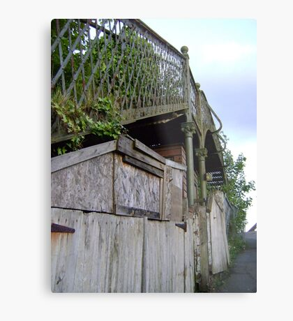 bridge over a.. shed? Metal Print