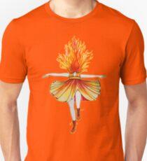 Girl on fire by Studinano T-Shirt