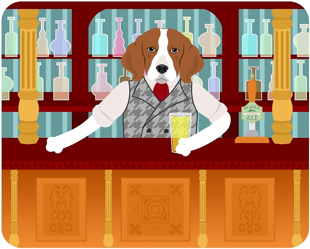 Beagle Beer Pub by pounddesigns