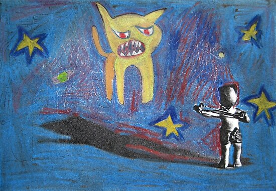 Backwards-Head Boy and the Angry Cat by John Douglas