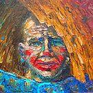 Life Is A Gamble / 2010 / oil on glass by Ivan KRUTOYAROV
