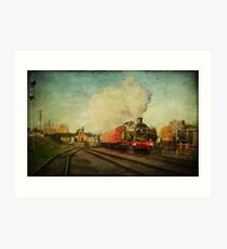 Express Delivery Art Print