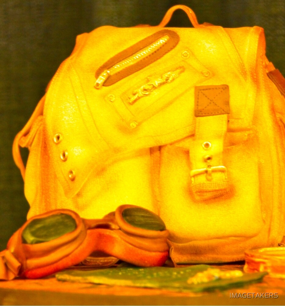 Sugar Art Sculpture - A Carry-On by IMAGETAKERS
