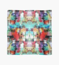 Colorful Abstract square pattern Scarf