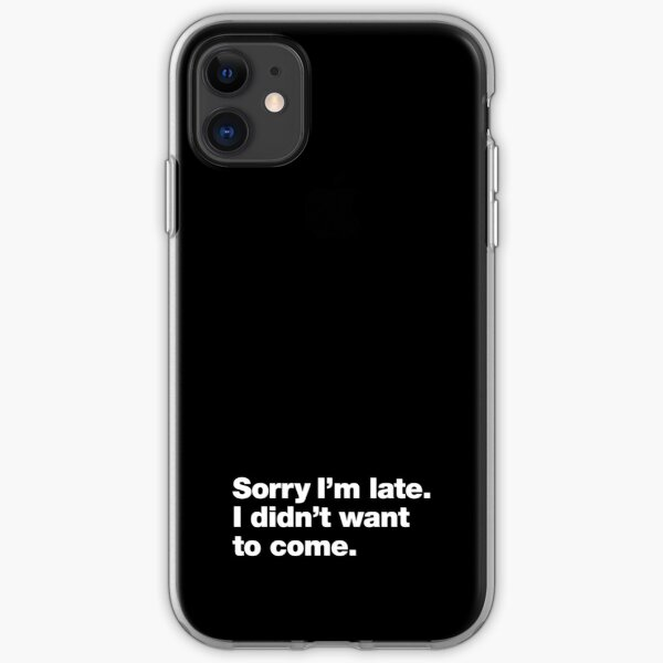 We wanted to sleep in the mountains iPhone 11 case