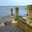 Broken Breakwater. by Lilian Marshall