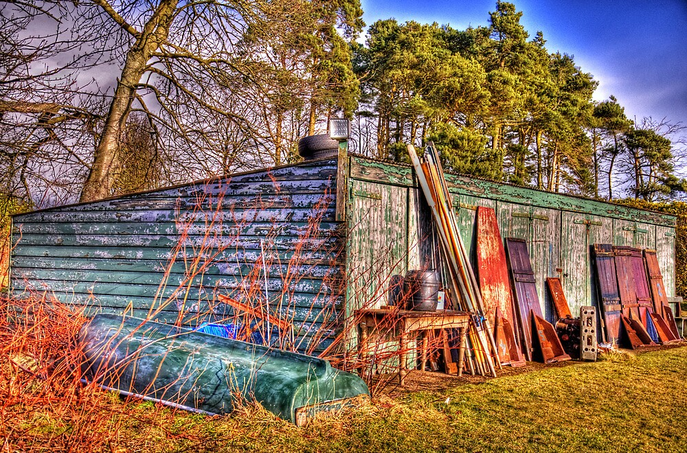 Anglers Shed by GillBell