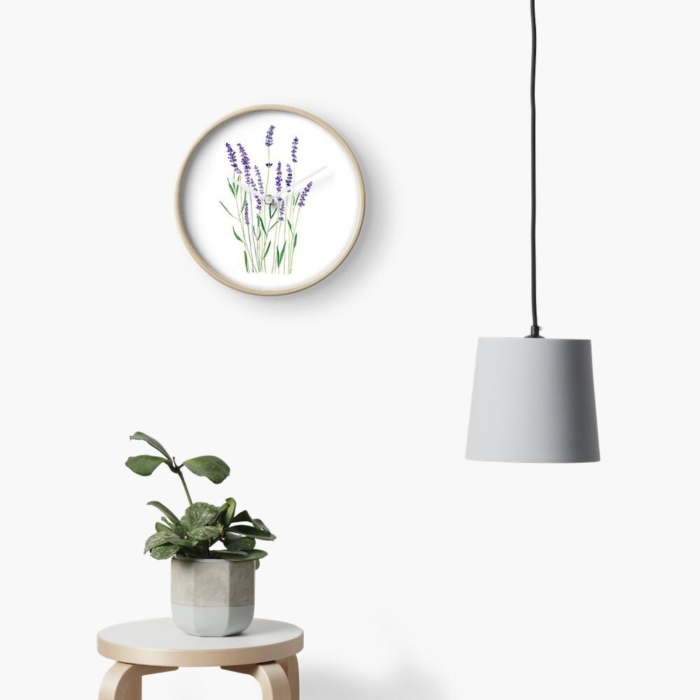 lavanda púrpura Reloj