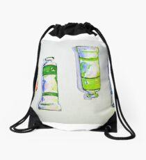 Tubes of Paint Drawstring Bag