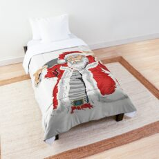 Cool Santa Claus Merry Christmas  Comforter