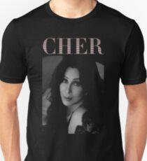 cher tour Slim Fit T-Shirt