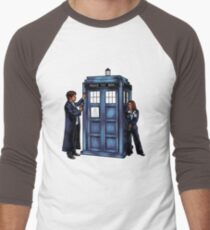 The Agents have the Phone Box Men's Baseball ¾ T-Shirt