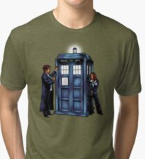 The Agents have the Phone Box Tri-blend T-Shirt
