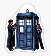 The Agents have the Phone Box Sticker