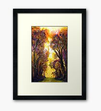 Colour of Trees Framed Print