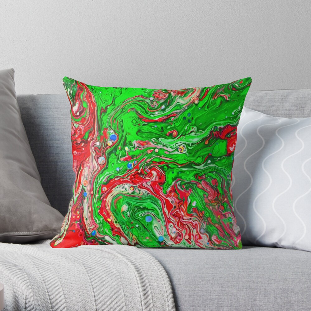 Abstraction #C Throw Pillow