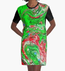 Abstraction #C Graphic T-Shirt Dress