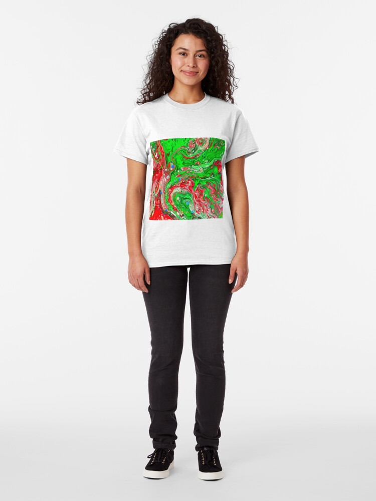 Alternate view of Abstraction #C Classic T-Shirt
