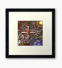 Three Part Harmony Framed Print