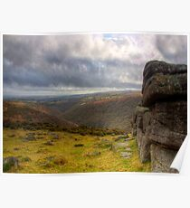 The Dart Valley,Dartmoor Poster