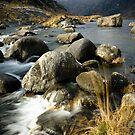 Scavaig River by Thomas Fitzgerald
