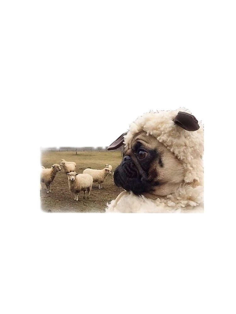 Pug Sheep by PugLove