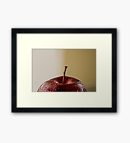 Bite me!: On Featured: The-power-of-simplicity Group Framed Print